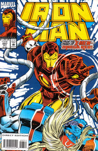Cover for Iron Man (Marvel, 1968 series) #297