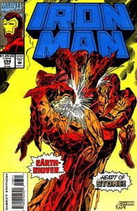 Cover for Iron Man (Marvel, 1968 series) #298