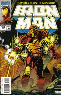 Cover for Iron Man (Marvel, 1968 series) #301