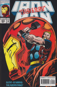 Cover Thumbnail for Iron Man (Marvel, 1968 series) #304 [Direct]