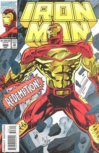 Cover for Iron Man (Marvel, 1968 series) #306