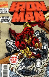 Cover for Iron Man (Marvel, 1968 series) #310 [Direct Edition]