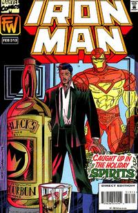 Cover Thumbnail for Iron Man (Marvel, 1968 series) #313 [Direct Edition]