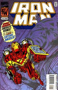 Cover Thumbnail for Iron Man (Marvel, 1968 series) #314 [Direct Edition]