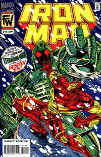 Cover Thumbnail for Iron Man (Marvel, 1968 series) #315 [Direct Edition]