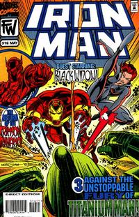 Cover Thumbnail for Iron Man (Marvel, 1968 series) #316