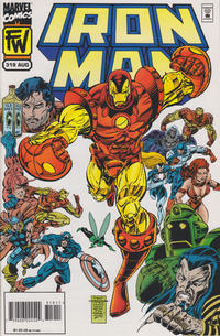 Cover Thumbnail for Iron Man (Marvel, 1968 series) #319 [Direct Edition]