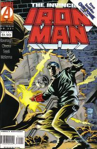Cover for Iron Man (Marvel, 1968 series) #321