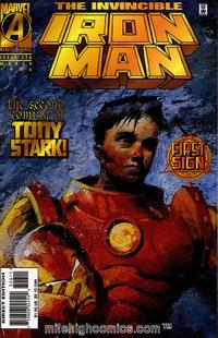 Cover for Iron Man (Marvel, 1968 series) #326