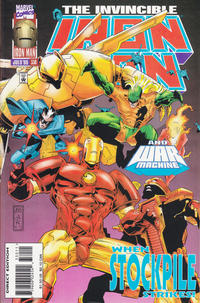 Cover for Iron Man (Marvel, 1968 series) #330