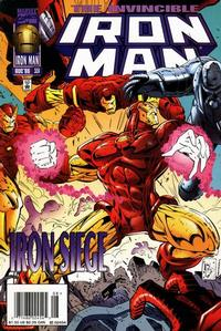 Cover Thumbnail for Iron Man (Marvel, 1968 series) #331 [Newsstand Edition]