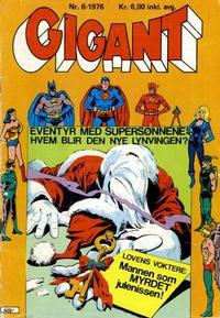 Cover Thumbnail for Gigant (Illustrerte Klassikere / Williams Forlag, 1969 series) #6/1976