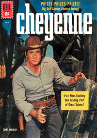 Cover Thumbnail for Cheyenne (Dell, 1957 series) #22