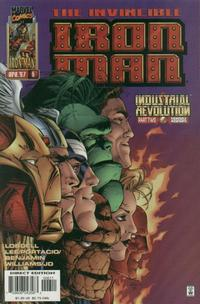 Cover Thumbnail for Iron Man (Marvel, 1996 series) #6 [Direct Edition]