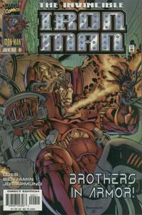 Cover Thumbnail for Iron Man (Marvel, 1996 series) #9 [Direct Edition]