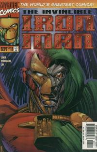 Cover Thumbnail for Iron Man (Marvel, 1996 series) #11 [Direct Edition]