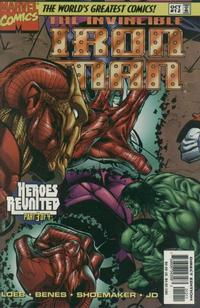 Cover Thumbnail for Iron Man (Marvel, 1996 series) #12 [Direct Edition]
