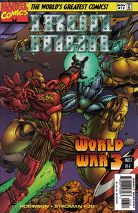 Cover Thumbnail for Iron Man (Marvel, 1996 series) #13 [Direct Edition]