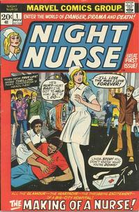 Cover Thumbnail for Night Nurse (Marvel, 1972 series) #1