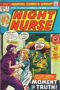 Cover Thumbnail for Night Nurse (Marvel, 1972 series) #2