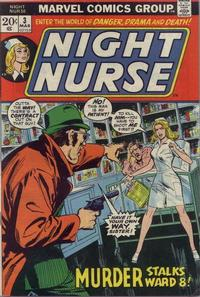 Cover Thumbnail for Night Nurse (Marvel, 1972 series) #3