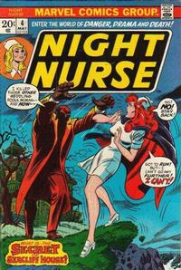 Cover Thumbnail for Night Nurse (Marvel, 1972 series) #4