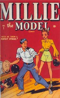 Cover Thumbnail for Millie the Model Comics (Marvel, 1945 series) #1