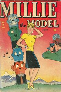 Cover Thumbnail for Millie the Model Comics (Marvel, 1945 series) #2