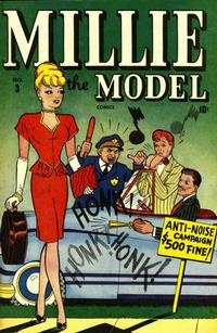 Cover Thumbnail for Millie the Model Comics (Marvel, 1945 series) #3