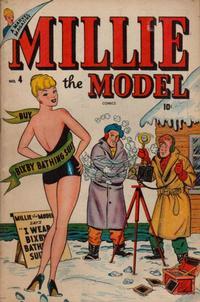 Cover Thumbnail for Millie the Model Comics (Marvel, 1945 series) #4
