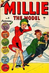 Cover Thumbnail for Millie the Model Comics (Marvel, 1945 series) #6