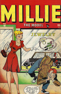 Cover Thumbnail for Millie the Model Comics (Marvel, 1945 series) #10