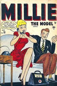 Cover Thumbnail for Millie the Model Comics (Marvel, 1945 series) #13