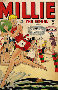 Cover Thumbnail for Millie the Model Comics (Marvel, 1945 series) #15