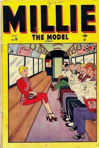 Cover Thumbnail for Millie the Model Comics (Marvel, 1945 series) #19