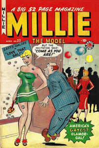 Cover Thumbnail for Millie the Model Comics (Marvel, 1945 series) #22