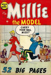 Cover Thumbnail for Millie the Model Comics (Marvel, 1945 series) #24