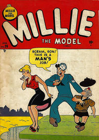 Cover Thumbnail for Millie the Model Comics (Marvel, 1945 series) #26