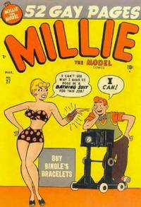 Cover Thumbnail for Millie the Model Comics (Marvel, 1945 series) #27