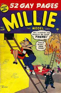 Cover Thumbnail for Millie the Model Comics (Marvel, 1945 series) #29