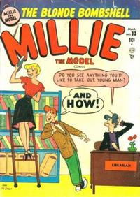 Cover Thumbnail for Millie the Model Comics (Marvel, 1945 series) #33