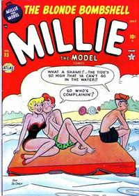 Cover Thumbnail for Millie the Model Comics (Marvel, 1945 series) #35