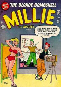 Cover Thumbnail for Millie the Model Comics (Marvel, 1945 series) #36