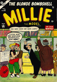 Cover Thumbnail for Millie the Model Comics (Marvel, 1945 series) #42