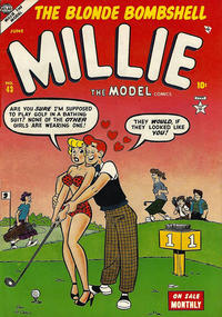 Cover Thumbnail for Millie the Model Comics (Marvel, 1945 series) #43