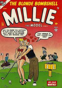 Cover Thumbnail for Millie the Model Comics (Marvel, 1945 series) #43