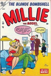 Cover Thumbnail for Millie the Model Comics (Marvel, 1945 series) #44