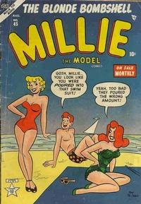 Cover Thumbnail for Millie the Model Comics (Marvel, 1945 series) #45