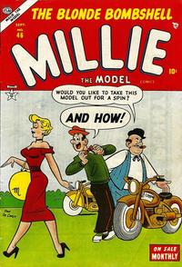 Cover Thumbnail for Millie the Model Comics (Marvel, 1945 series) #46
