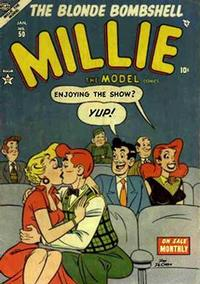 Cover Thumbnail for Millie the Model Comics (Marvel, 1945 series) #50